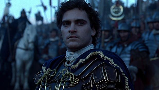 Joaquin Phoenix as Emperor Commodus in 'Gladiator'