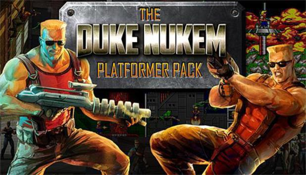 The Duke Nukem Platformer Pack