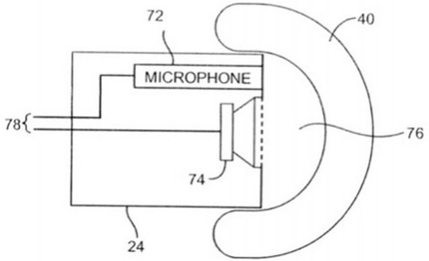 Apple patent for self-adjusting headphones