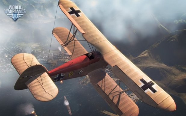 'World of Warplanes' screenshot