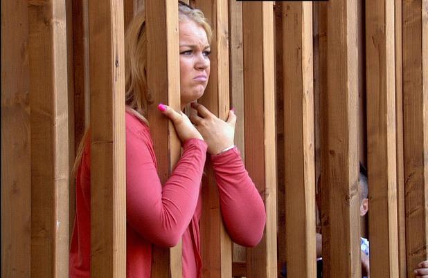 Sophie in prison.