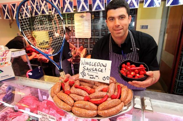 Wimbledon sausages
