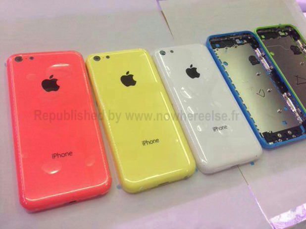 Purported image of Apple's budget iPhone
