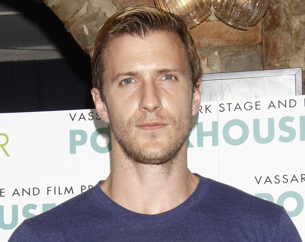 Patrick Heusinger, New York Stage and Film 2012 season launch at Joe Allen restaurant