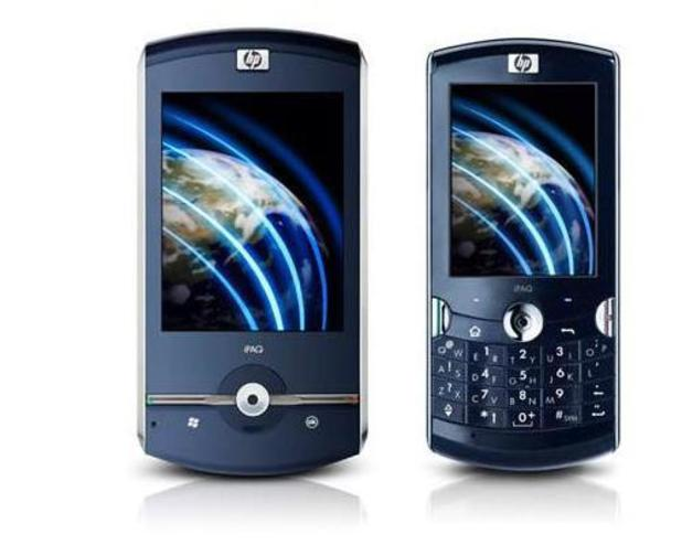 HP's iPAQ Voice Messenger phone