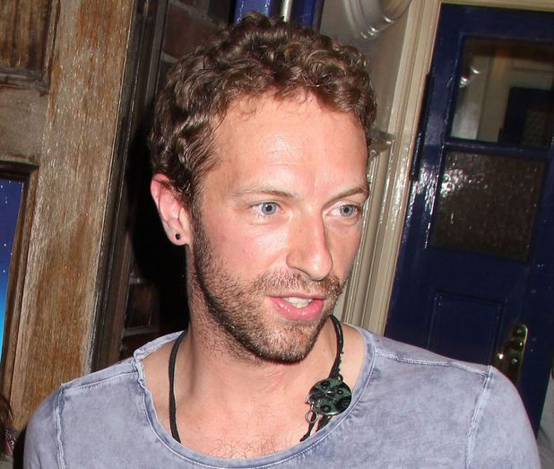Chris Martin at the showing of 'A Curious Night at the Theatre' on July 1