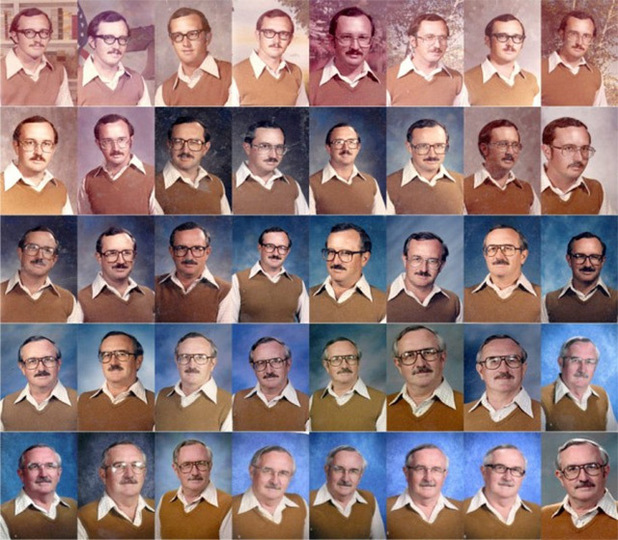 PE teacher wears same yearbook outfit for 40 years