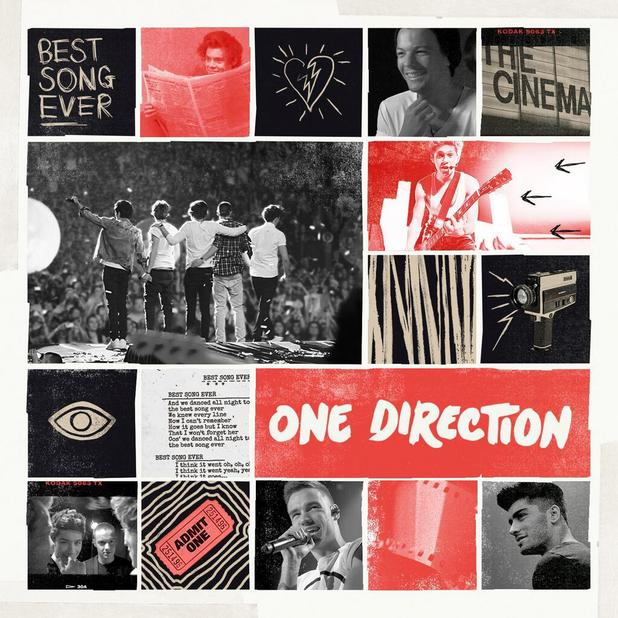 One Direction 'Best Song Ever' artwork
