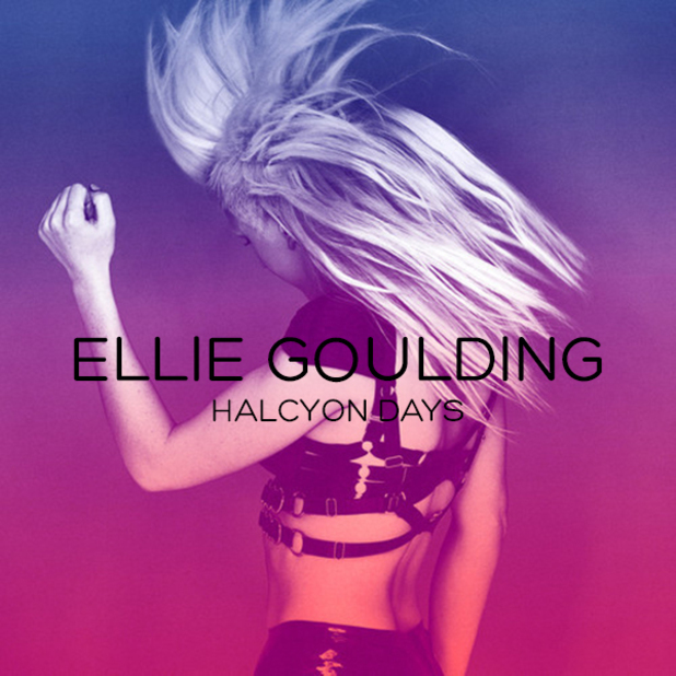 Ellie Goulding 'Halcyon Days' album artwork.
