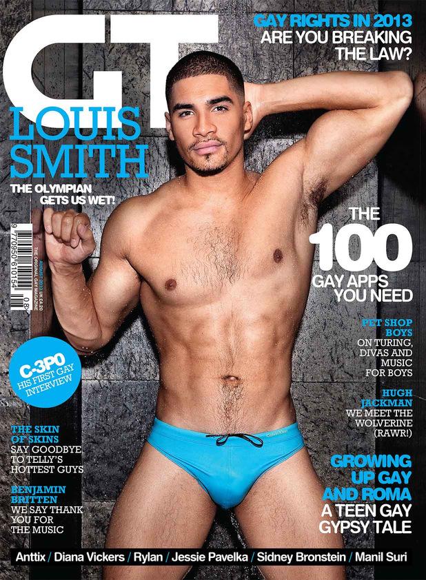 Louis Smith near-naked in tiny trunks: 'I'd go gay for Will Smith