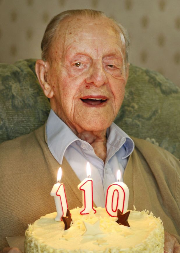 Britain's oldest man Ralph Tarrant