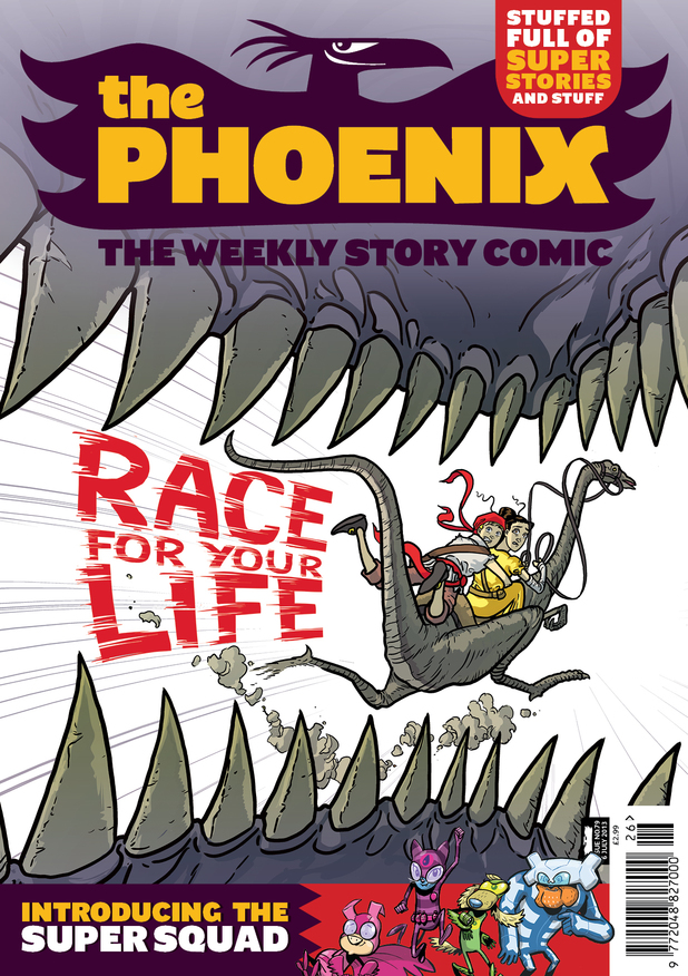 The Phoenix Issue 79 cover artwork