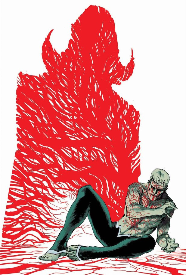 Rafael Albuquerque's 'Animal Man' #24 cover
