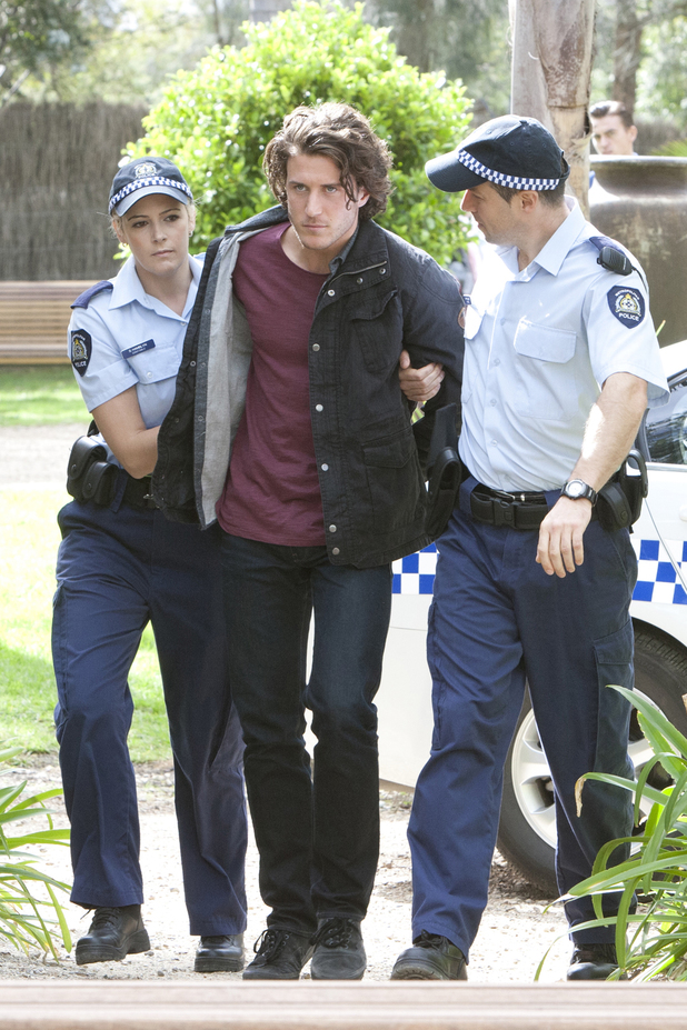 Robbo is arrested