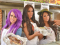 Geordie Shore face DS's 'kebab of truth'