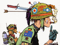 The artist says that he has been talking to his Tank Girl collaborator.