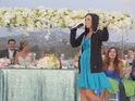 Jennifer Gabrielli performs a brilliant rap speech at her sister's wedding.