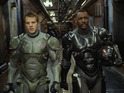 Pacific Rim heroes Rob Kazinsky and Idris Elba save our day.