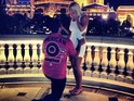 Dallas Cowboys player Phil Costa and Brooke Hogan get engaged in Las Vegas.