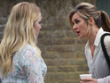 Kirsty wants Abi to speak to Max on her behalf in EastEnders tonight.