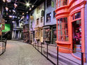 The famous shopping area from the Harry Potter series can be explored online.