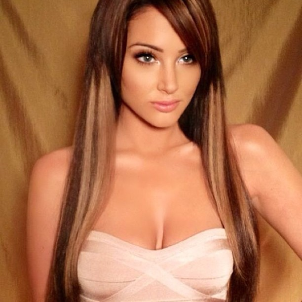 Tulisa shares her new look on Instagram