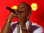 The hip-hop star dedicates a performance of 'Young Forever' to Nelson Mandela.