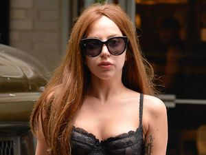 Lady Gaga out and about, New York, bra