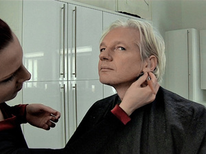 Julian Assange in 'We Steal Secrets: The Story of WikiLeaks'