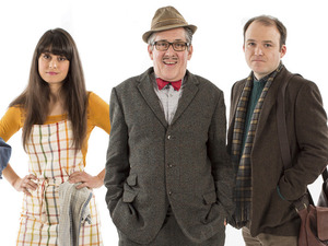 The cast of 'Count Arthur Strong'