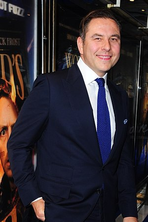 David Walliams arriving for the world premiere of The World's End, at the Empire Leicester Square, London.