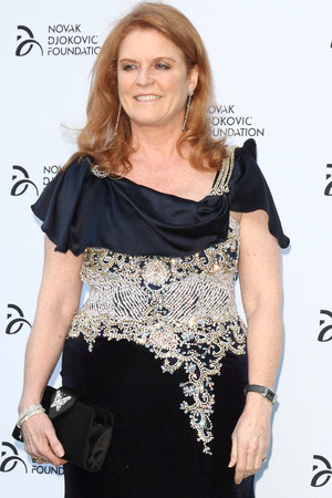 Sarah Ferguson at The Novak Djokovic Foundation Gala Dinner at The Roundhouse