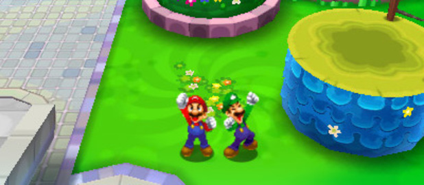 'Mario & Luigi: Dream Team Bros' screenshot