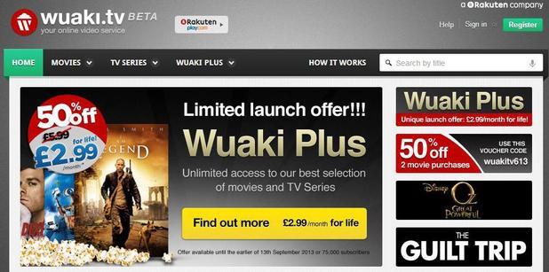 Wuaki video streaming service