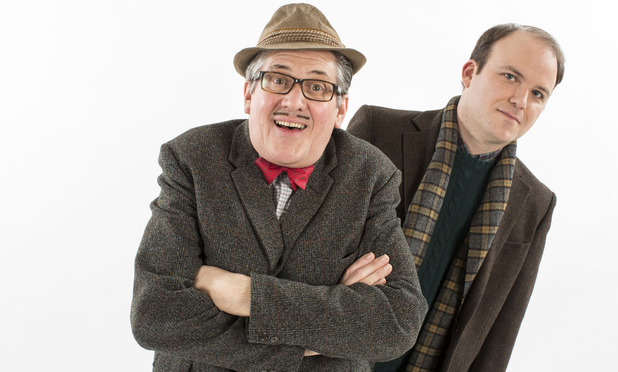 Steve Delaney as Count Arthur Strong and Rory Kinnear as Michael