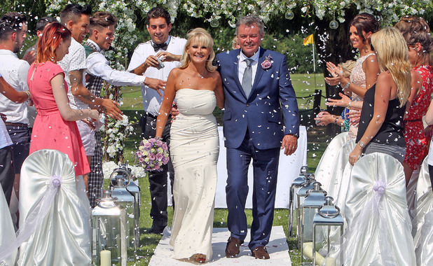 Carol and Mark Wright's wedding vow renewal