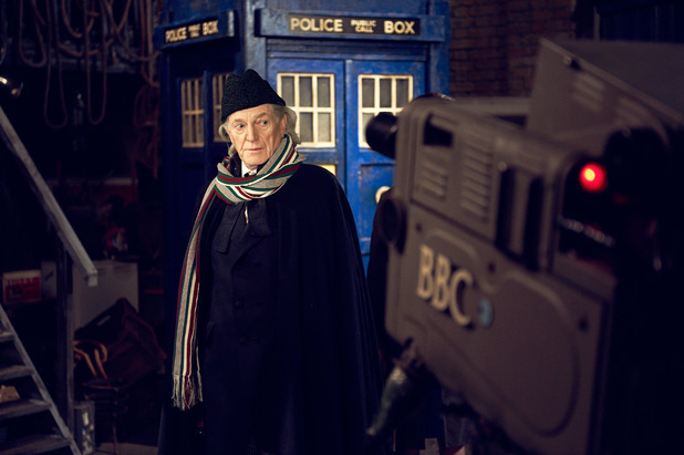 David Bradley as William Hartnell in 'Doctor Who' 50th biopic 'An Adventure in Space and Time'.