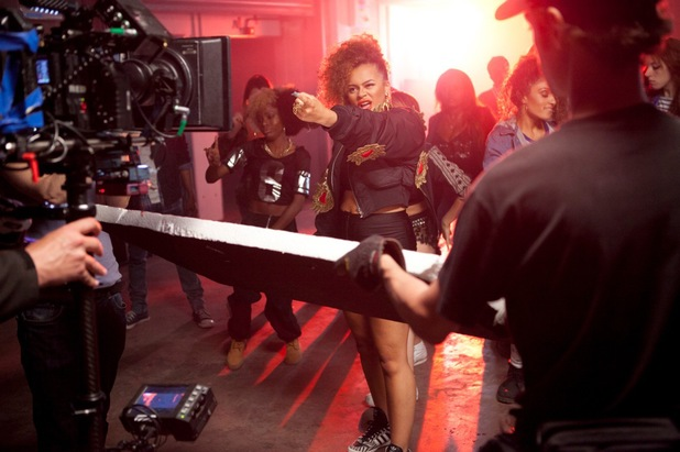 Little Nikki behind-the-scenes on 'Nikki Says' video