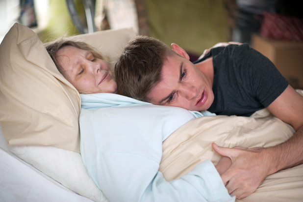Ste is devastated over his mum
