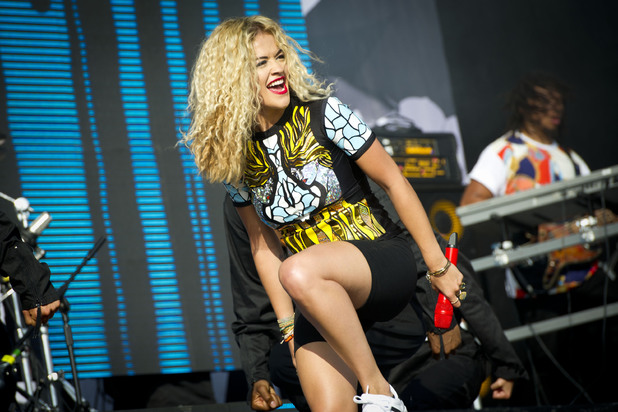 Rita Ora performing at the 2013 Wireless Festival, July 13