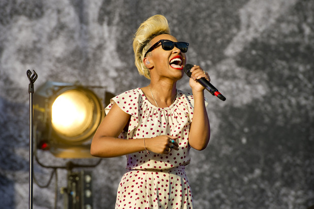 Emeli Sande performing at the 2013 Wireless Festival, July 13