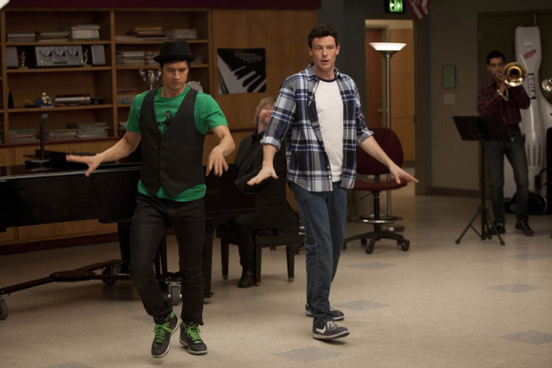 Cory Monteith in 'Glee'