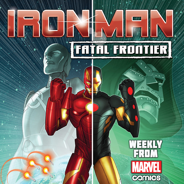 'Iron Man: Fatal Frontier' teaser artwork
