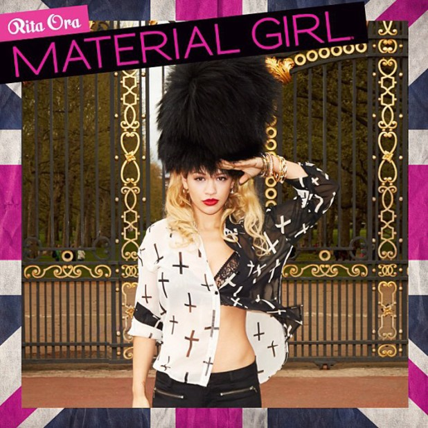 Rita Ora previews Material Girl campaign