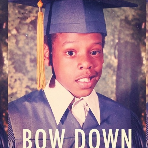 Beyoncé uploads an old picture of Jay-Z to celebrate his platinum album