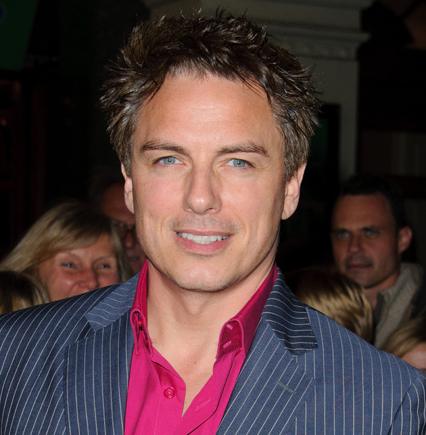 John Barrowman at the Macmillan Centenary Gala at the London Palladium in November 2011