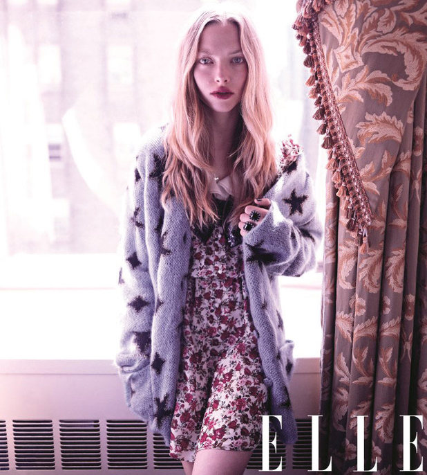 Amanda Seyfried photoshoot for Elle