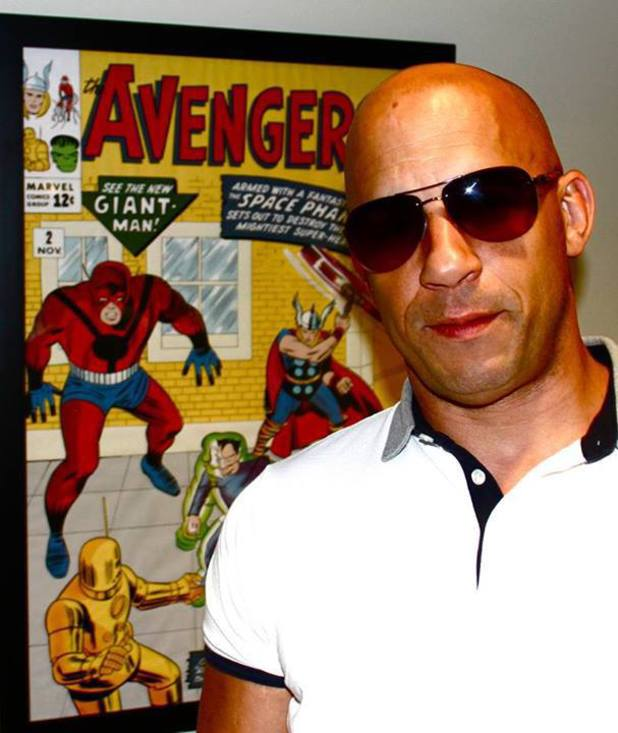 Vin Diesel teases a possible role in 'The Avengers 2'