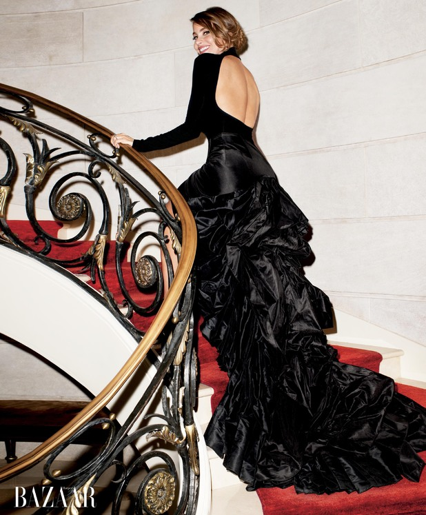Sofia Vergara in Harper's Bazaar August issue