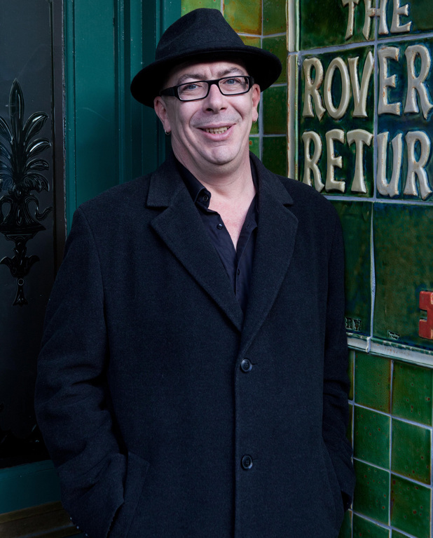Coronation Street producer Stuart Blackburn